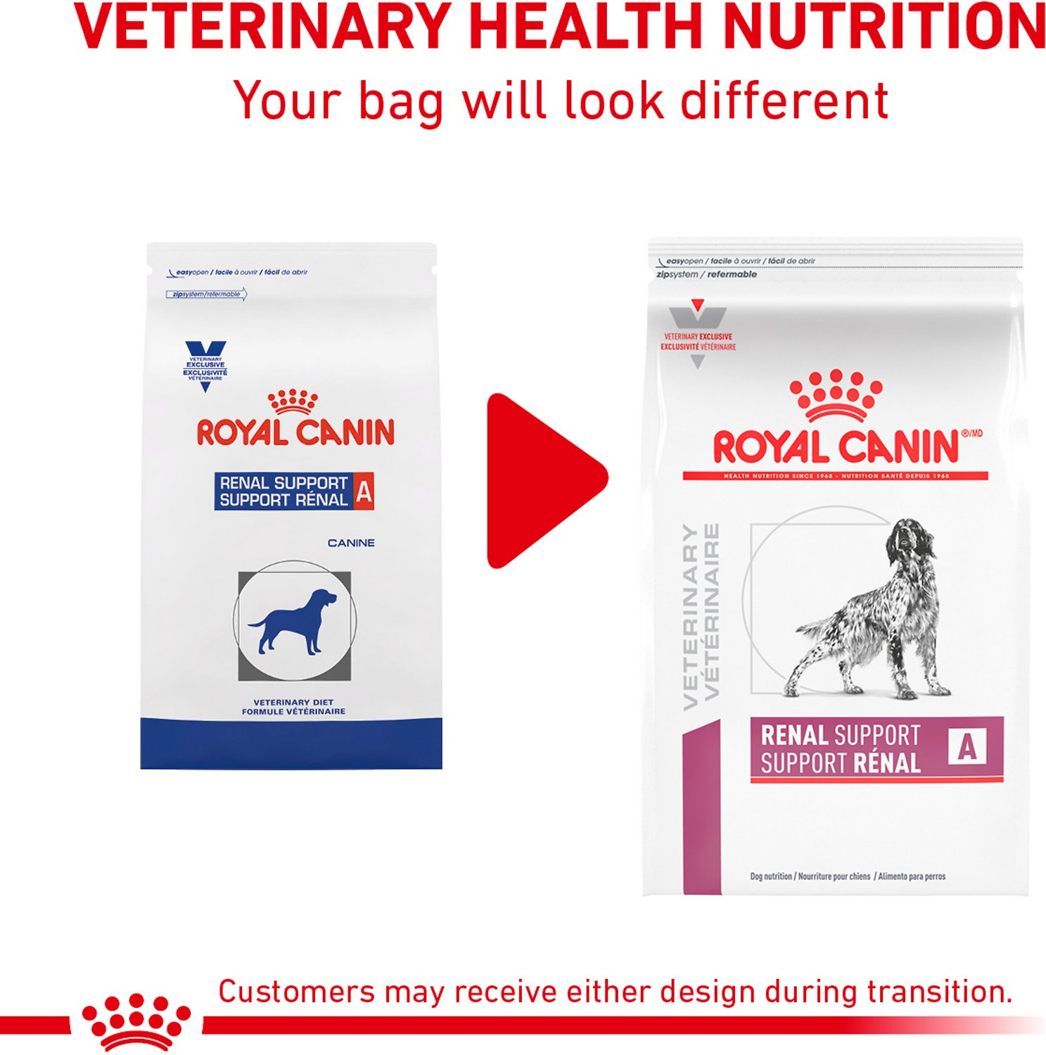 Tasse En Gramme Royal Canin Veterinary Diet Renal Support A Dry Dog Food 6 Lb Bag