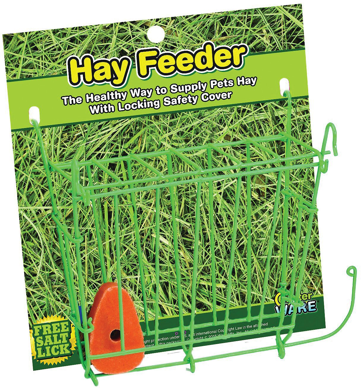 Feed Hay Ware Small Animal Hay Feeder 1 Count
