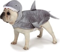 Casual Canine Shark Dog Costume, Small - Chewy.com