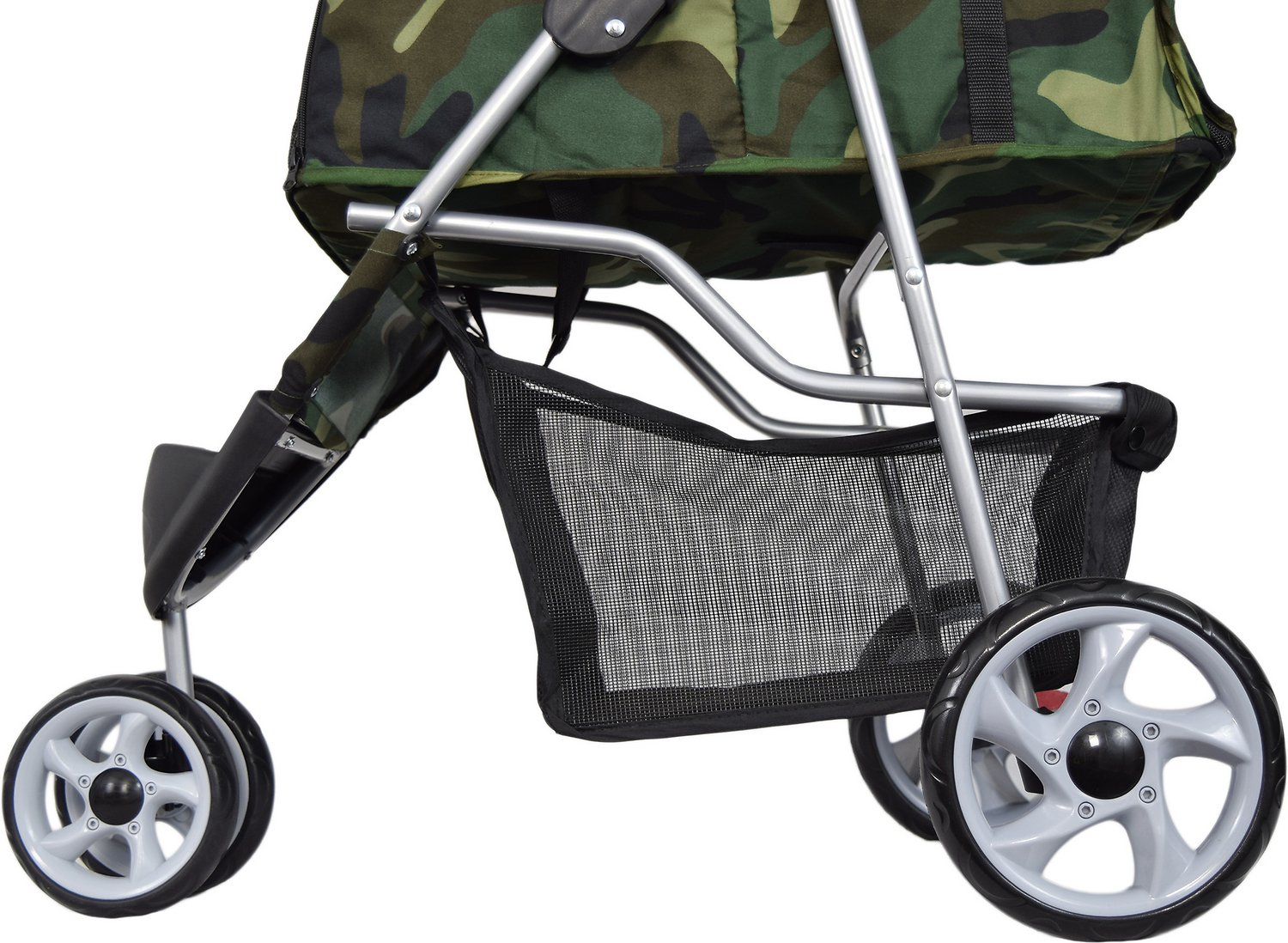 Dog Strollers Chewy.com Vivo 3 Wheel Dog Cat Stroller Camo Chewy