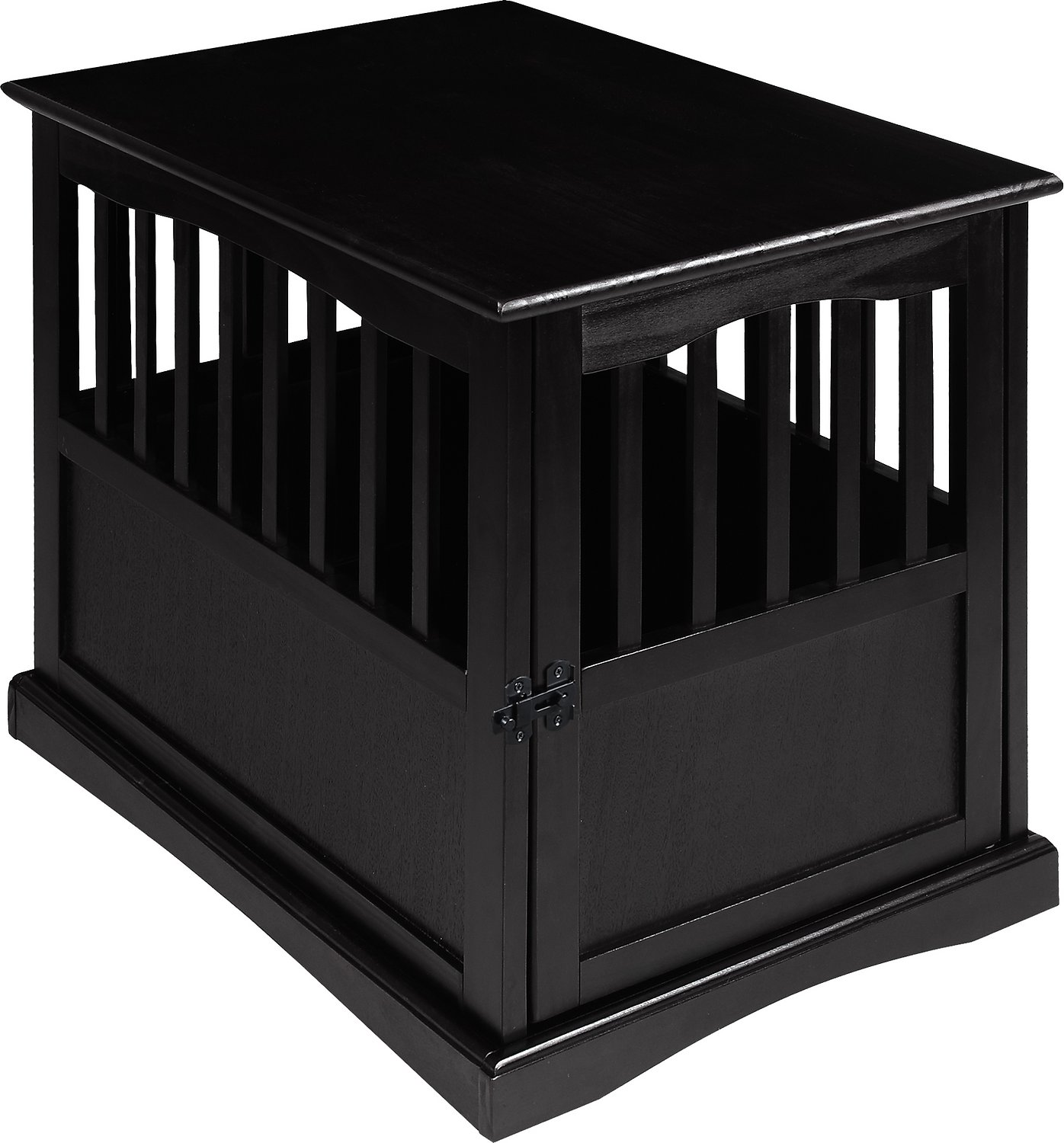 Small Black End Table Casual Home End Table Dog Crate Small Black Chewy