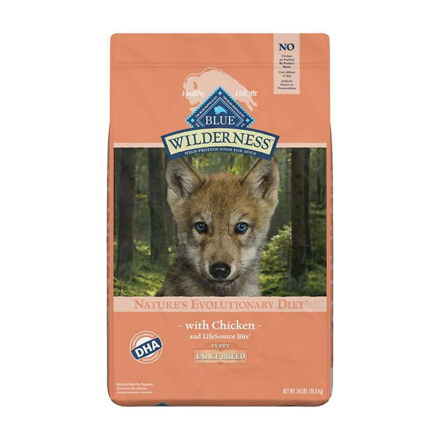 Blue Buffalo Wilderness Large Breed Puppy Chicken Recipe Grain-Free