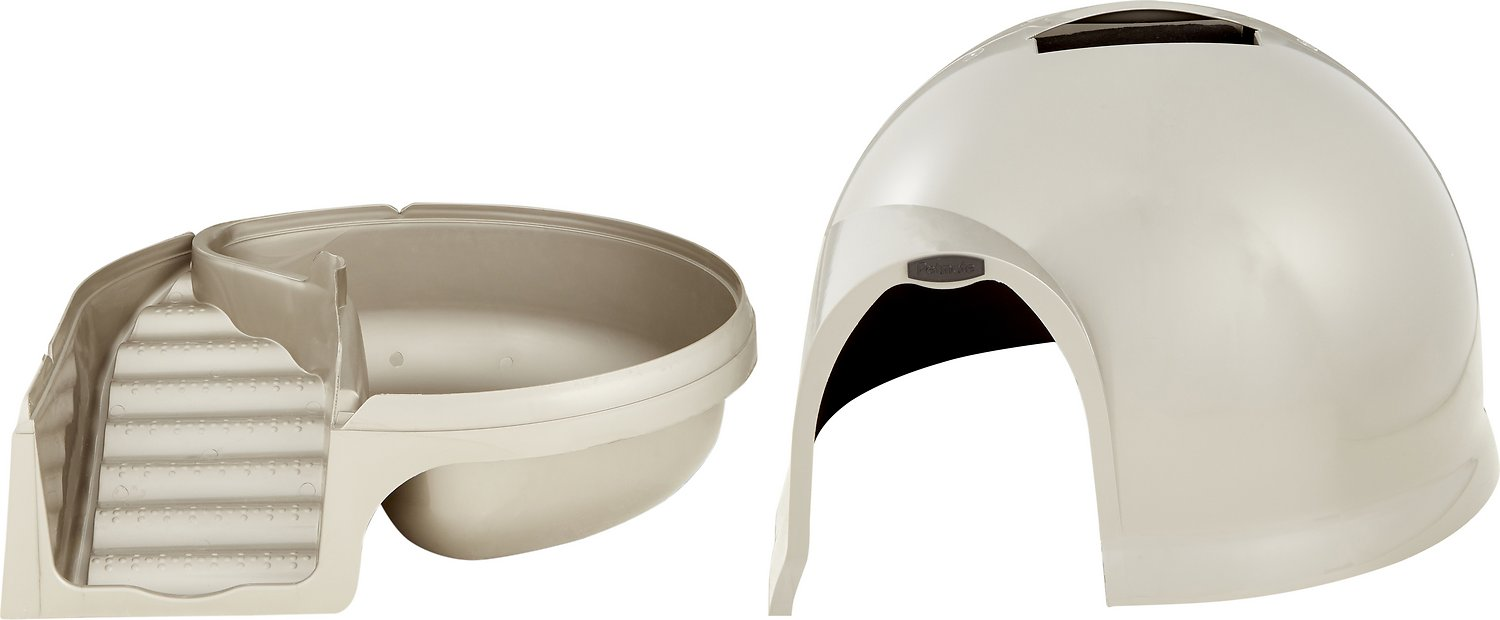 Booda Dome Cleanstep Litter Box Nickel Chewycom