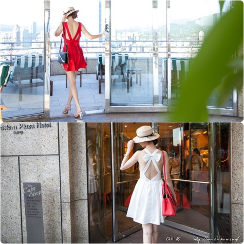 香格里拉視線x夢幻背影殺手洋裝Min min Lynn & Co.