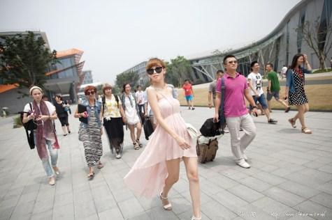 杭州初體驗x根本當伸展台的Diosa穿搭