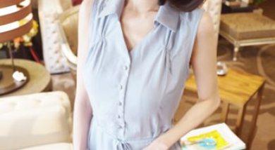 招待文。乾淨清新的盛夏韓系美人服。coco korea