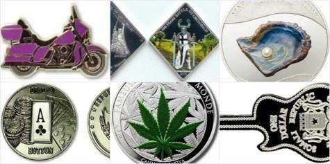 世界绝美25种硬币