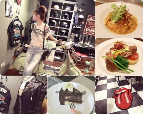 連食物也讓我驚艷的Ton Up Cafe英式60's重機迷咖啡廳