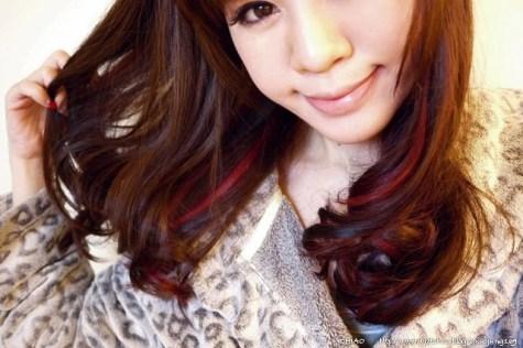 我的亞麻灰 x 深粉酒紅色的2013新年