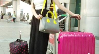 加州行_出發的行李準備就買很大XD