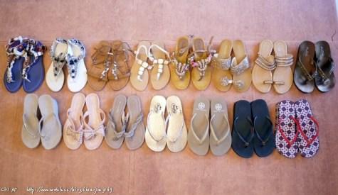 我的15雙熱血夏日=穿夾腳拖鞋的季節