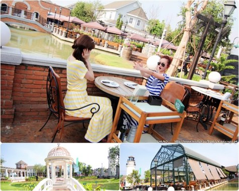 曼谷巧克力鎮Chocolate Ville_竟然只是歐式戶外餐廳?!