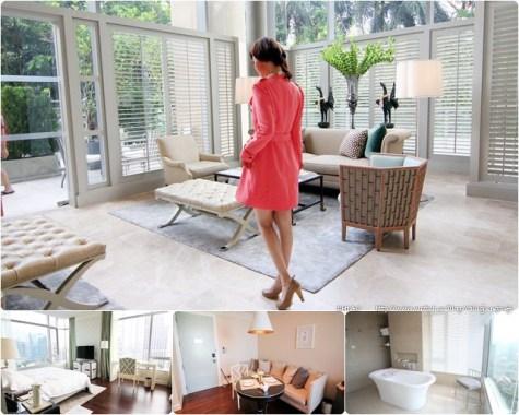 城市仙境_曼谷东方公寓Oriental Residence Bangkok