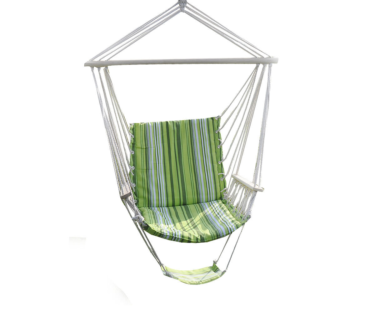 Hamac En Solde Ipree Outdoor Canvas Swing Hamac Leisure Hanging Chair Jardin Patio Yard Max 330lbs