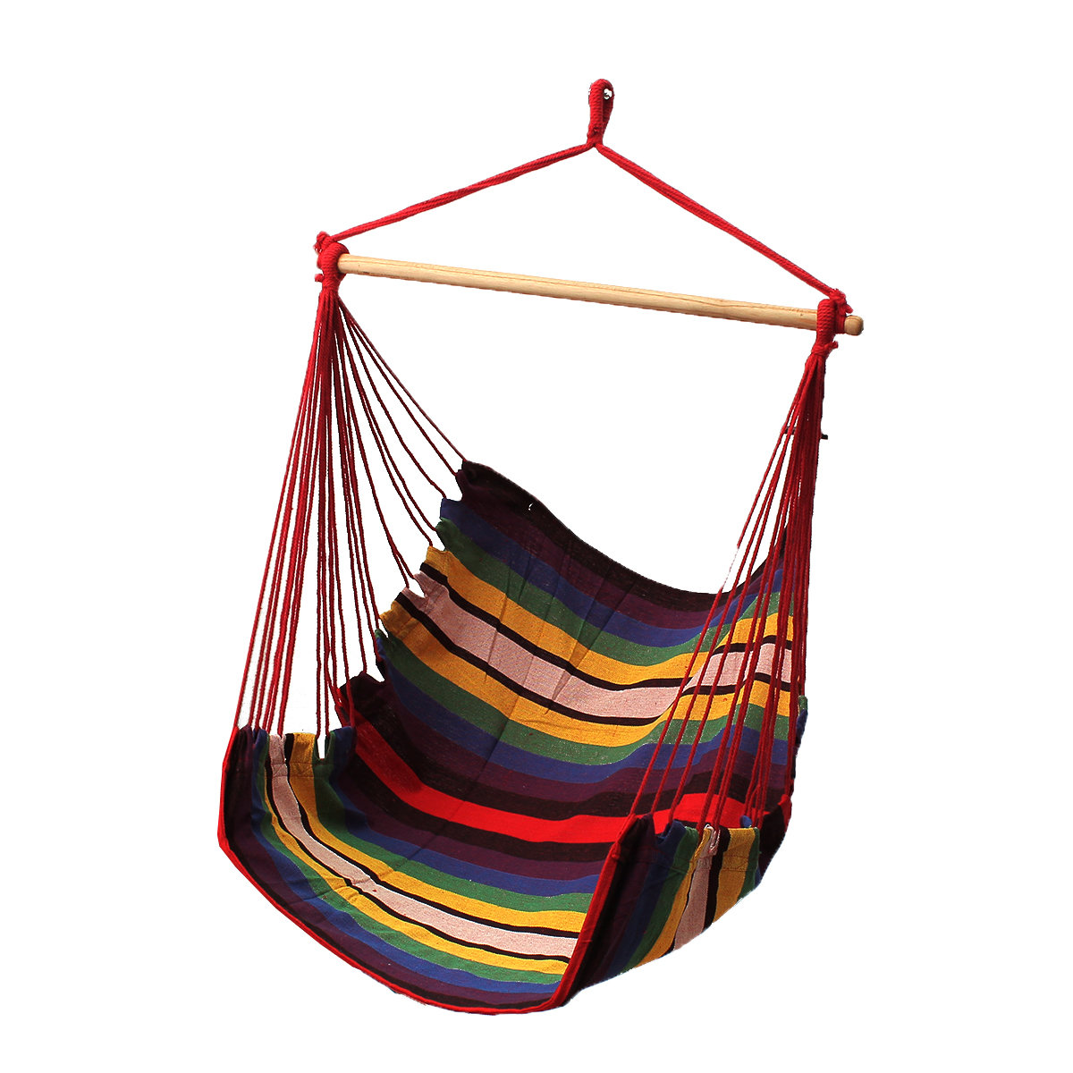 Hamac En Solde Garden Patio Suspension Épaisses Hamac Chaise Indoor Outdoor Coton Swing Coussin Seat