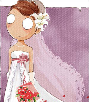 a bride without a groom