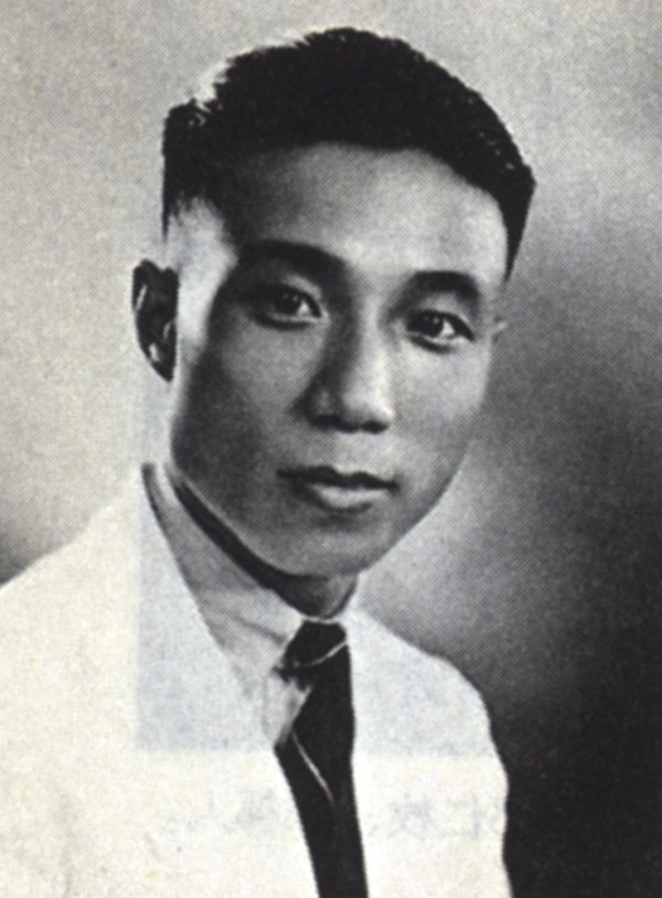 Sir Run Run Shaw at his youth.