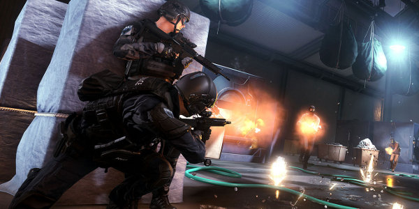 3d Changing Wallpaper Battlefield Hardline Weapons Changing Due To Beta