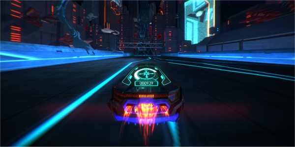 The Cars Disney Wallpaper Distance Tron Esque Racing Game Could Come To Ps4 Xbox