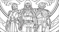 A Destiny 2 Coloring Book Is Coming, So Whip Out The ...