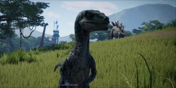 Dinosaur 3d Live Wallpaper The First In Game Footage Of Jurassic World Evolution Is