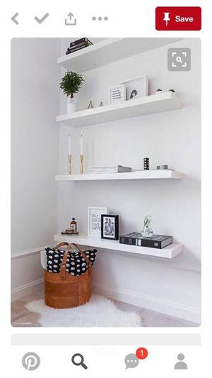 Pair Of Ikea Wall Shelves Posot Class