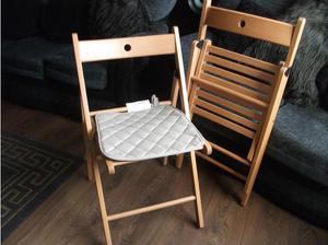 2 Ikea Nisse Folding Chairs Posot Class