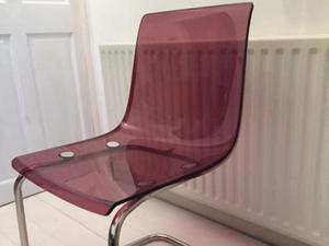 4 Grey Ikea Tobias Chairs