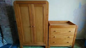 Wardrobe Chest Of Drawers Amp Cupboard Set Posot Class