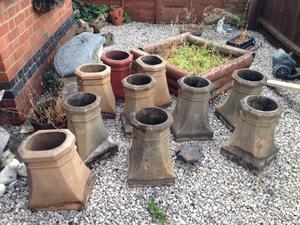 Old Victorian Chimney Pots Posot Class