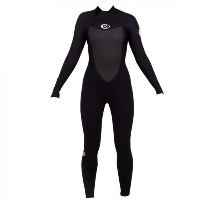 Rip Curl Women\u0027s Omega 3/2 Flatlock Back Zip Wetsuit - Cleanline Surf