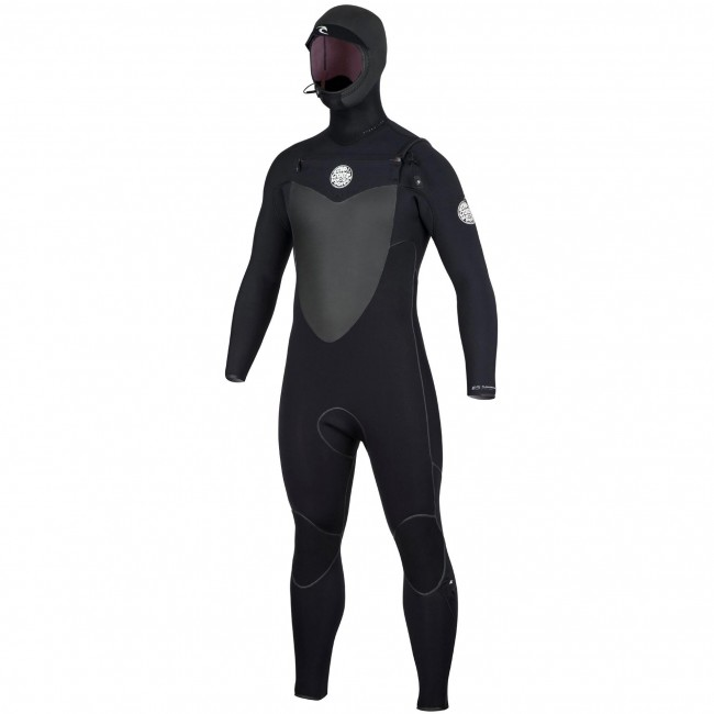Rip Curl Flash Bomb 5/4 Hooded Chest Zip Wetsuit - Cleanline Surf