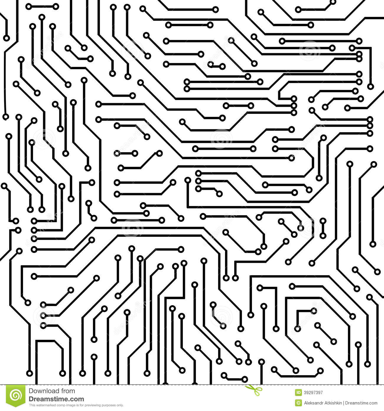 clipart of computer circuit board vector computer circuit board