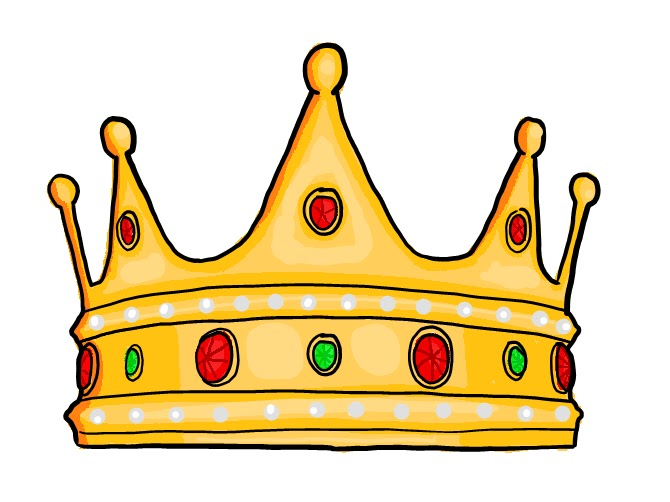 82+ King Crown Clipart ClipartLook