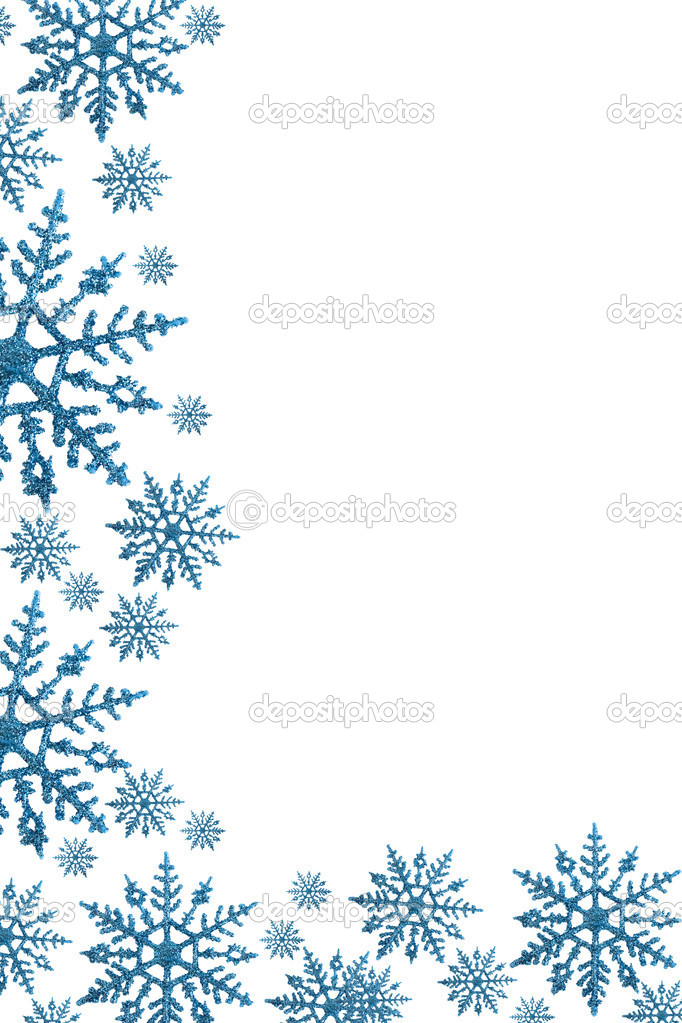 Free Snowflake Border Clipart  Look At Clip Art Images - ClipartLook