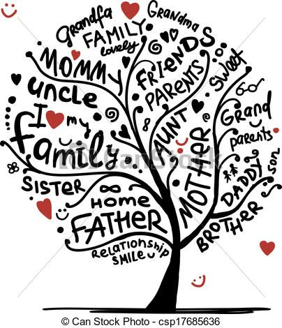 15+ Free Family Tree Clipart ClipartLook