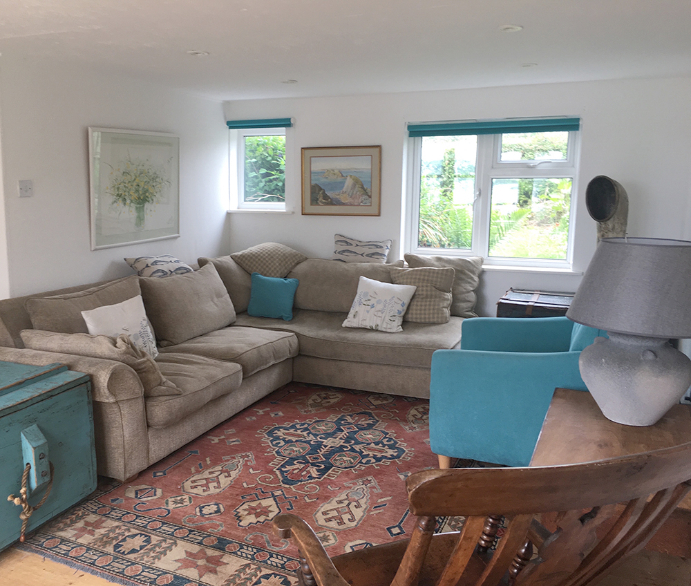 Big Sofa Goodwick 4 Bay View Angle 3 Star Holiday Cottage In Pembrokeshire South