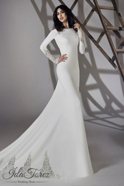 Medium Of Long Sleeve Wedding Dresses