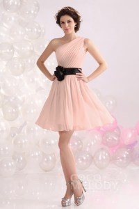 A-Line Short-Mini Chiffon Bridesmaids Dress COZB1301C ...