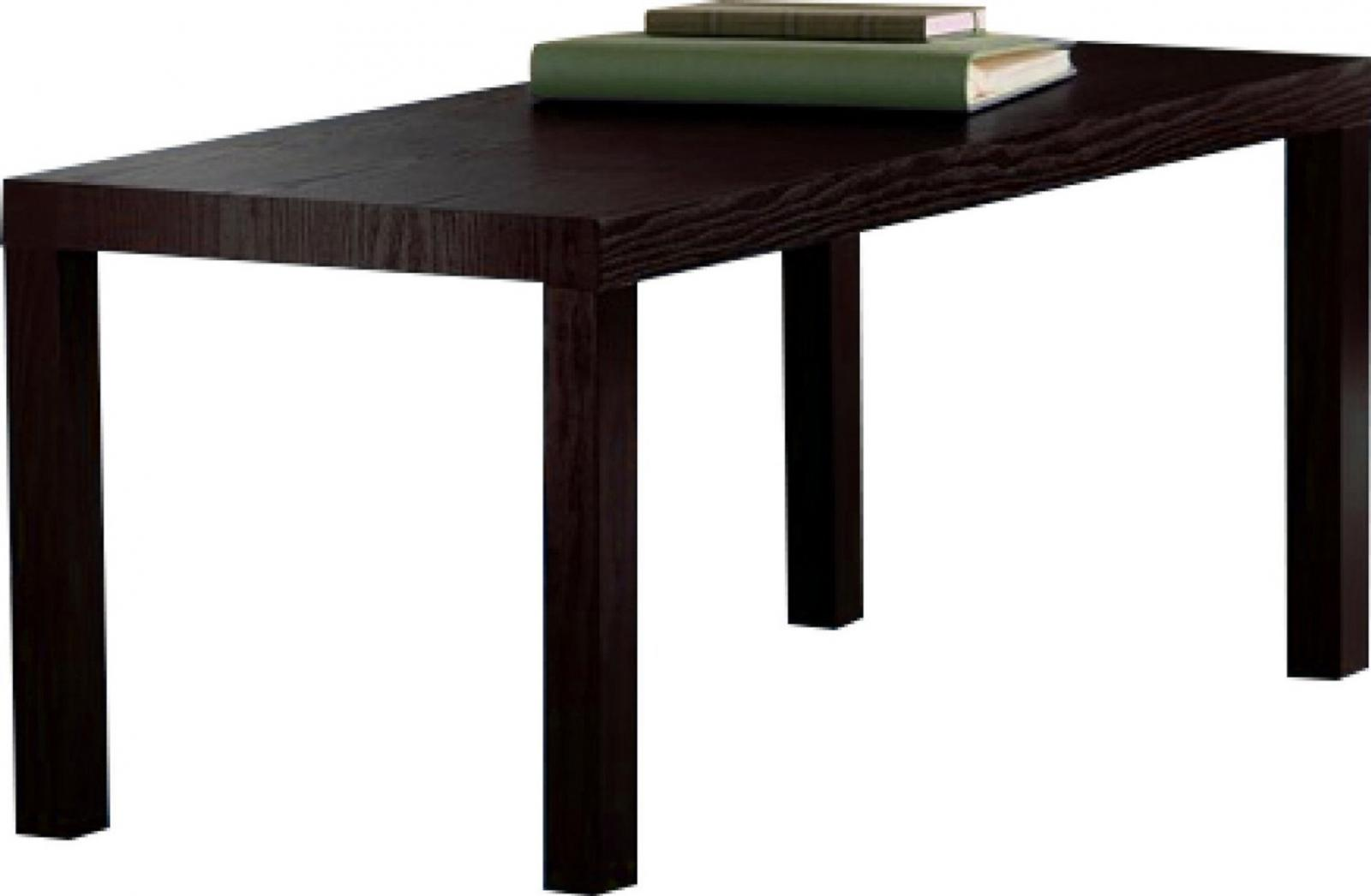 NEW Durable Modern Coffee Table, Easy Assemble, Dark