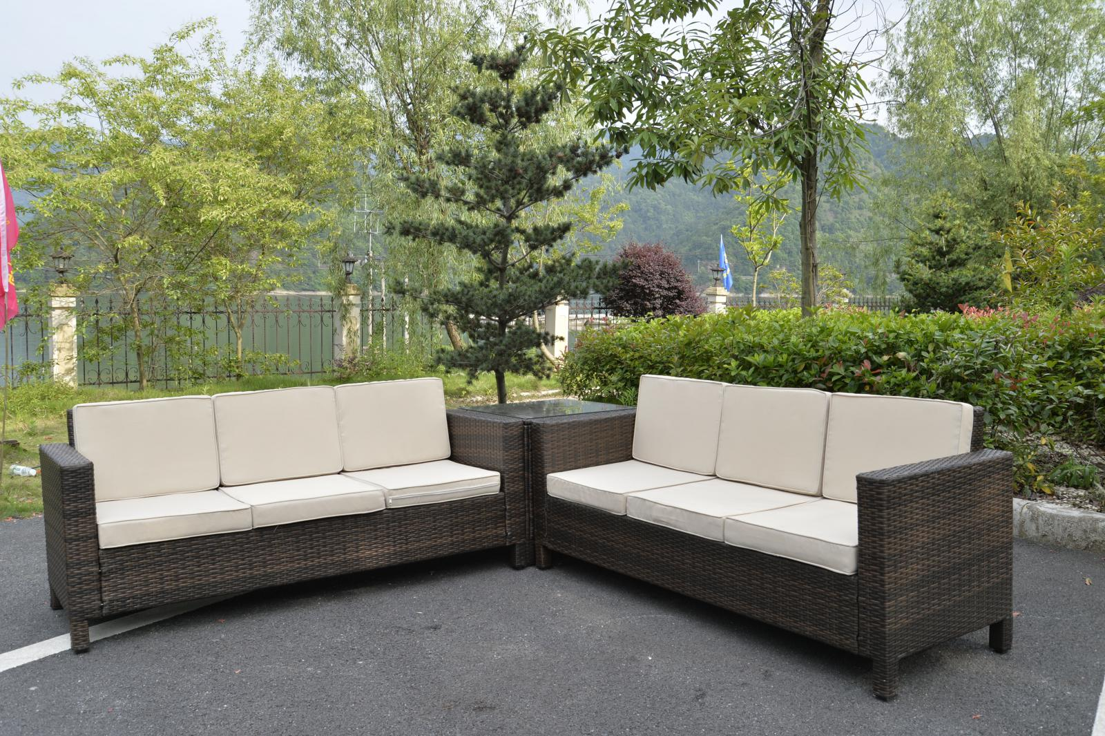 Rattan Corner Sofa Set Ebay Rattan Garden Furniture Set Sofa Conservatory Outdoor