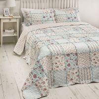 3Pcs Floral Vintage Patch Work Bedspread Sets / Comforter ...