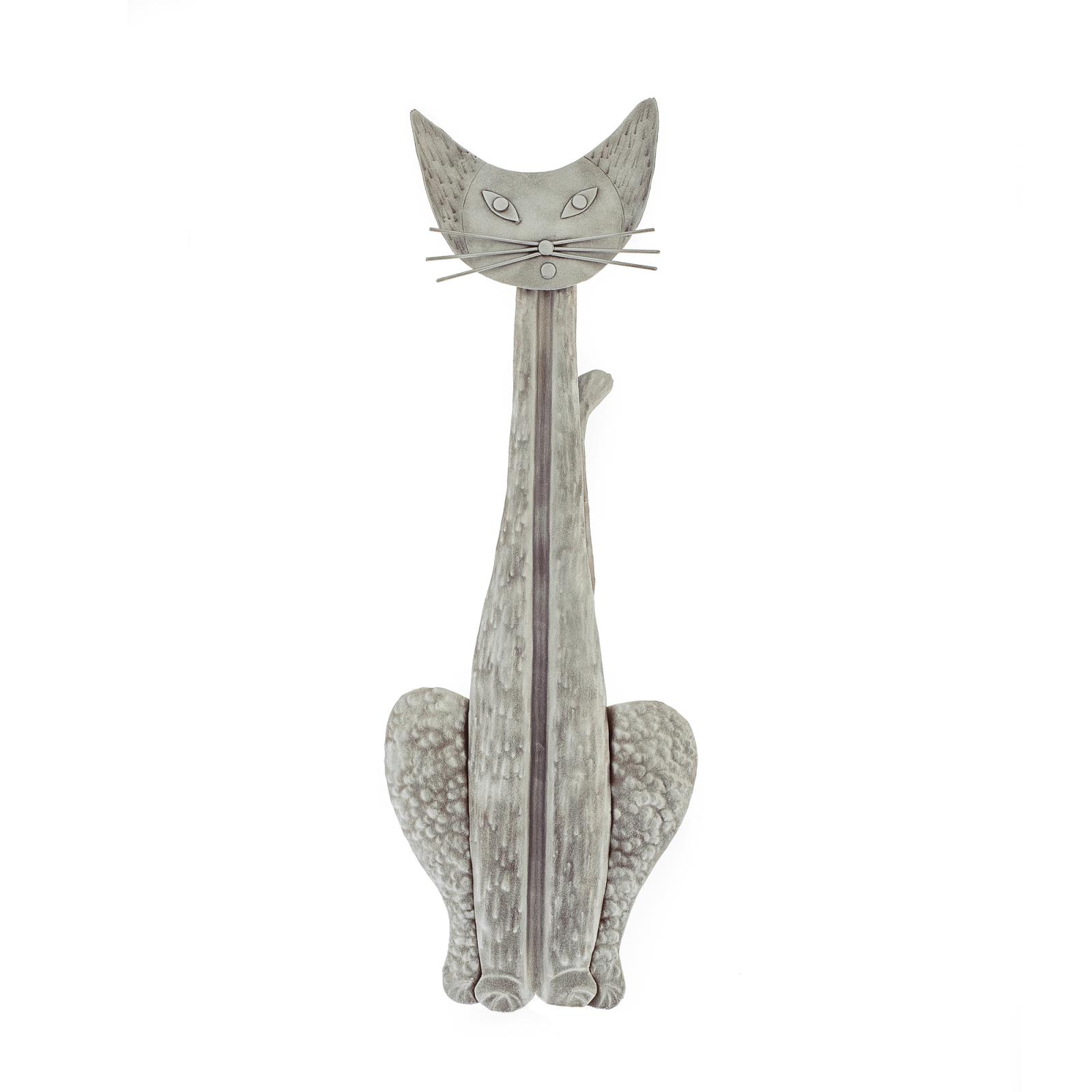 Cat Wall Art Metal Metal Wall Art Décor Sculpture Handmade Hanging Cat