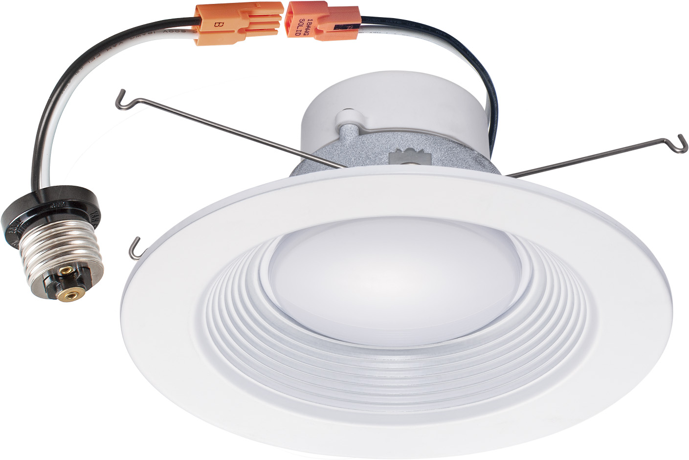 Recessed Lighting Downlight Trim 12 Pack 5 6 Inch 16w Led Recessed Dimmable