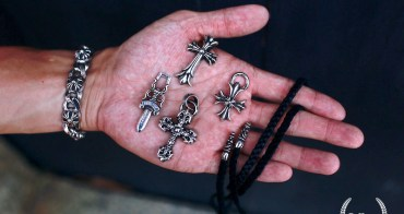 [銀飾] 上癮難戒 Chrome Hearts 十字架、匕首項鍊分享