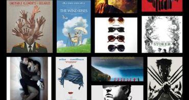 2013最棒的20張電影海報