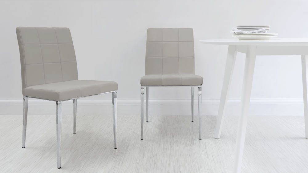 Dark Wood Round Extending Dining Table White Or Grey