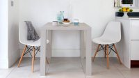 Modern Grey High Gloss Dining Table | Kitchen Table