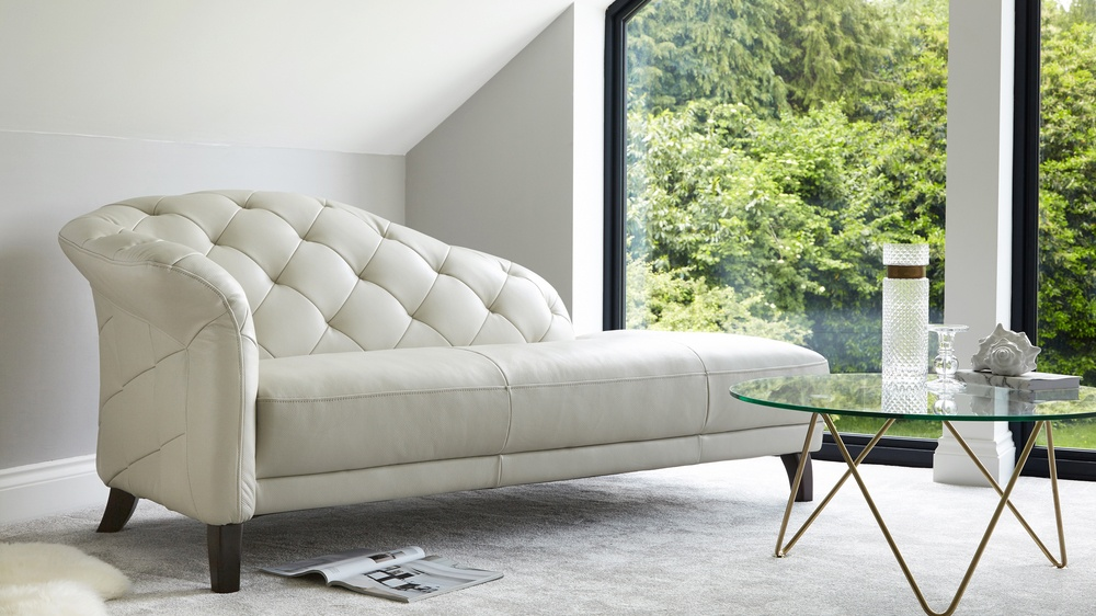 Modern Chaise Lounge Modern Leather Chaise Lounge | Living Room Seating | Uk
