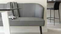 Mellow 3 Seater Bench with Backrest | Bench with Back UK